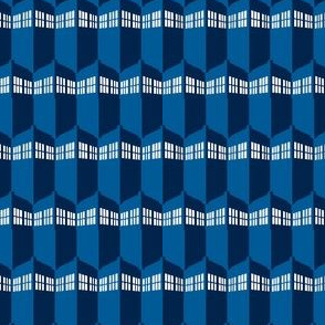 Dr. Who tardis geometric