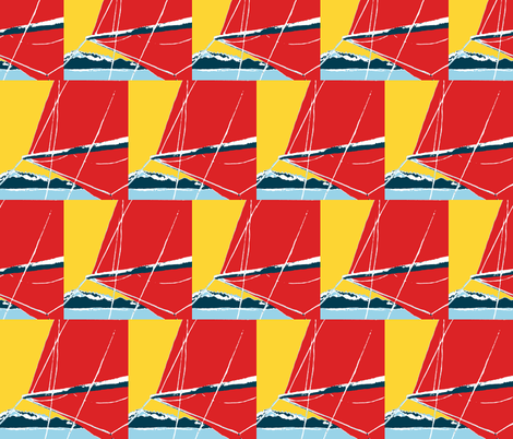 spinnaker fabric by suebeerice on Spoonflower - custom fabric