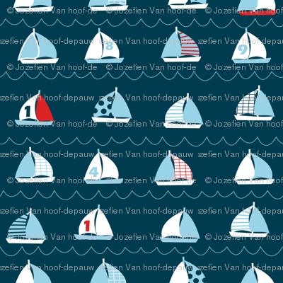 boats love to sail