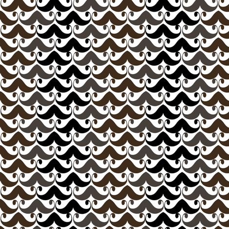 Mustaches! fabric by natitys on Spoonflower - custom fabric