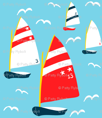 4 Sailboats