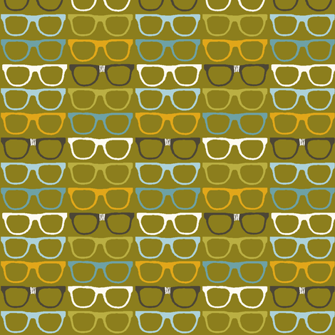 chic_specs fabric by stacyiesthsu on Spoonflower - custom fabric