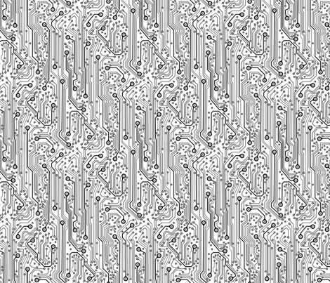 CircuitBoard_B_Wrev150 fabric by mjmontana on Spoonflower - custom fabric