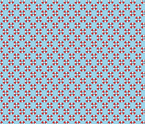 Buoys fabric by pixeldust on Spoonflower - custom fabric