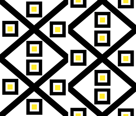 Black & Gold fabric by rmurdock on Spoonflower - custom fabric
