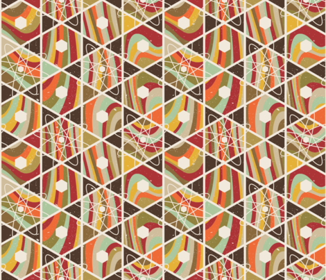 Cast-A-Hex fabric by wrapartist on Spoonflower - custom fabric