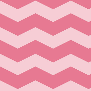 Pink Dawn ~ Chevrons ~ Pink On Pink