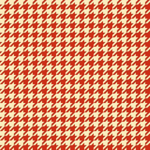 Apple A Day ~ The Houndstooth Check ~ Red Delicious & Core