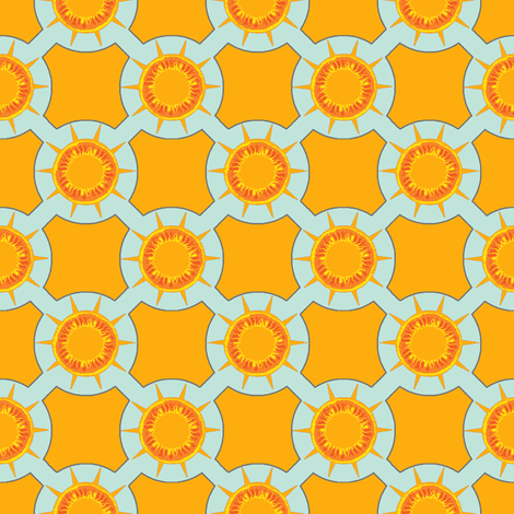 fun in the sun fabric by keweenawchris on Spoonflower - custom fabric