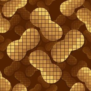 Pixel Peanuts (dark)
