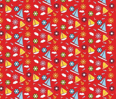 Sail Away fabric by countrygarden on Spoonflower - custom fabric