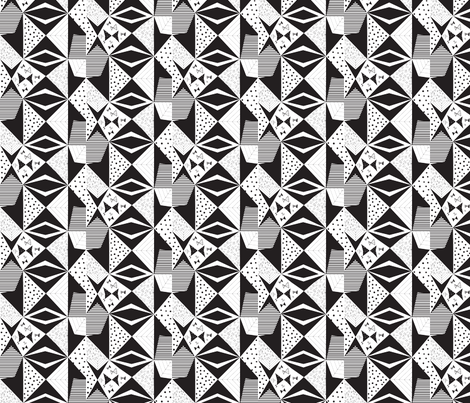 GeekChic fabric by sammio17 on Spoonflower - custom fabric
