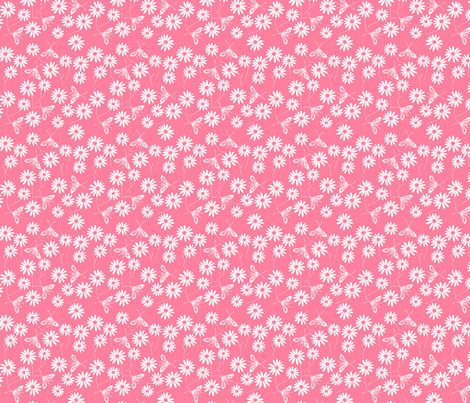Summer Chic Pink fabric by de-ann_black on Spoonflower - custom fabric