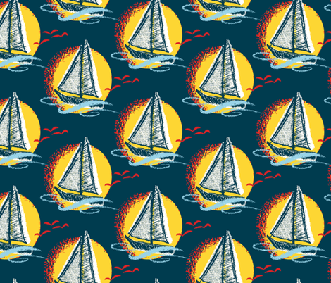 Full_Sail fabric by spacecowgirl on Spoonflower - custom fabric