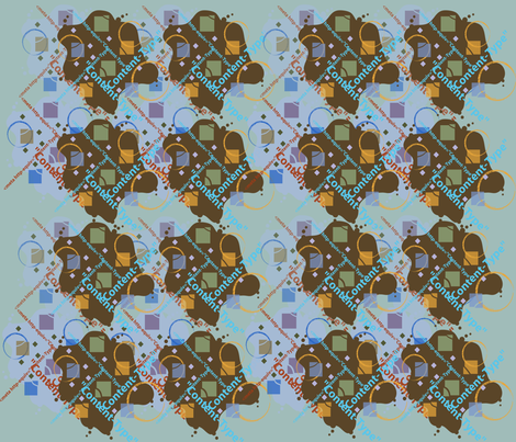 Meta-2 fabric by scifiwritir on Spoonflower - custom fabric