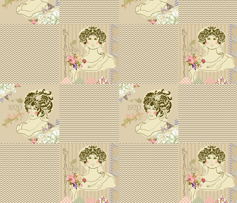 Roaring_Twenties_2 fabric by ©_lana_gordon_rast_ on Spoonflower - custom fabric
