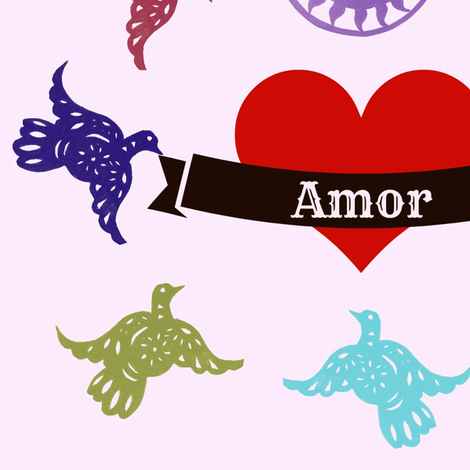 Amor fabric by boris_thumbkin on Spoonflower - custom fabric