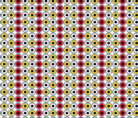 plug and play on white fabric by sydama on Spoonflower - custom fabric
