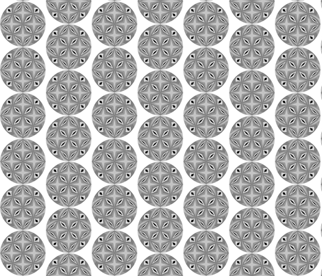 Retrosphere grey fabric by angela_tackett on Spoonflower - custom fabric