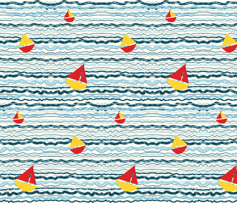 See_the_Little_Boats_Bob fabric by pollywhistle on Spoonflower - custom fabric