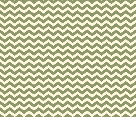 Chevron__Green fabric by lana_gordon_rast_ on Spoonflower - custom fabric