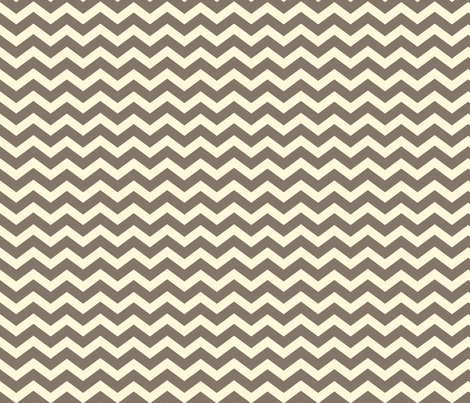 Chevron Brown fabric by lana_gordon_rast_ on Spoonflower - custom fabric