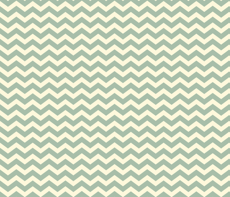 Chevron_Jade fabric by ©_lana_gordon_rast_ on Spoonflower - custom fabric