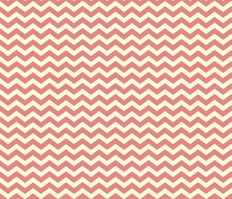 Chevron_Rose fabric by lana_gordon_rast_ on Spoonflower - custom fabric