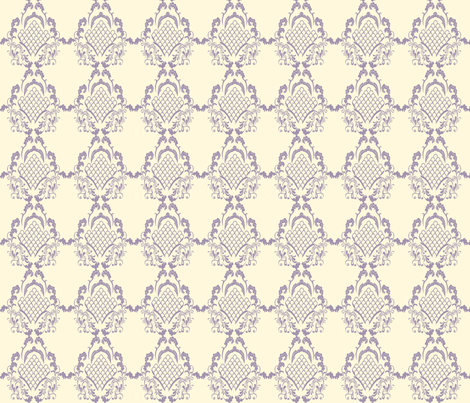 Damask_Grape fabric by lana_gordon_rast_ on Spoonflower - custom fabric