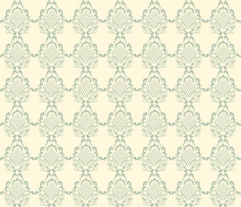 Damask_Jade fabric by lana_gordon_rast_ on Spoonflower - custom fabric