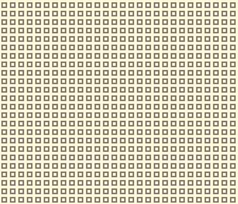 Squares_Brown fabric by ©_lana_gordon_rast_ on Spoonflower - custom fabric