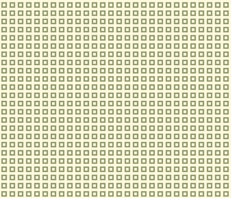 Squares_Green fabric by ©_lana_gordon_rast_ on Spoonflower - custom fabric