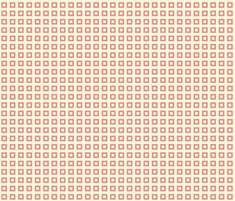 Squares_Pink fabric by ©_lana_gordon_rast_ on Spoonflower - custom fabric