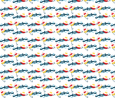 sailing2 fabric by sg-fabric on Spoonflower - custom fabric