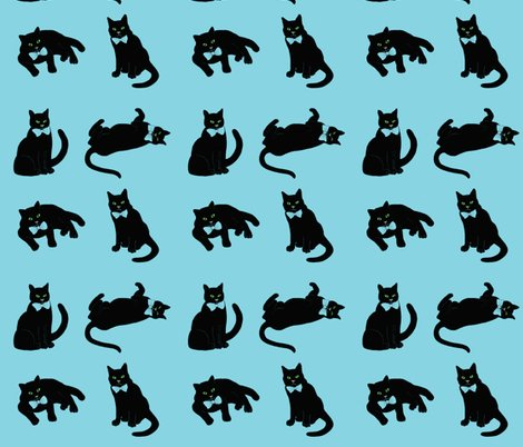 Rrrrrspoonflower_turquoise_cats_finished_shop_preview