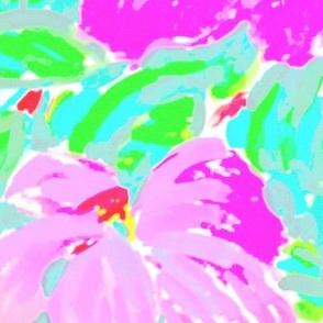 Magenta Hibiscus