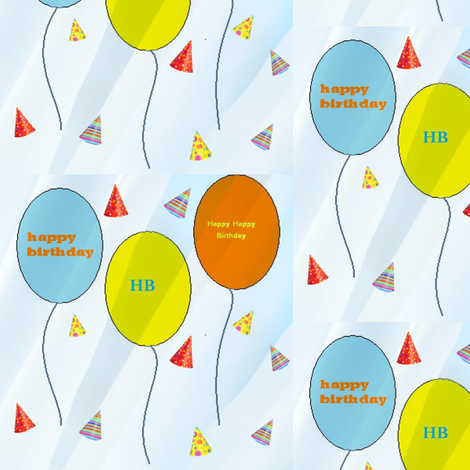 Partytime fabric by vos_designs on Spoonflower - custom fabric