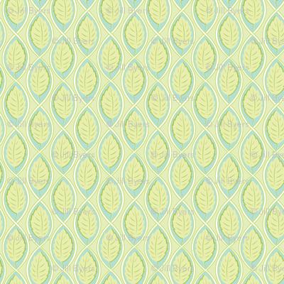 Leaf Spiral lt.green
