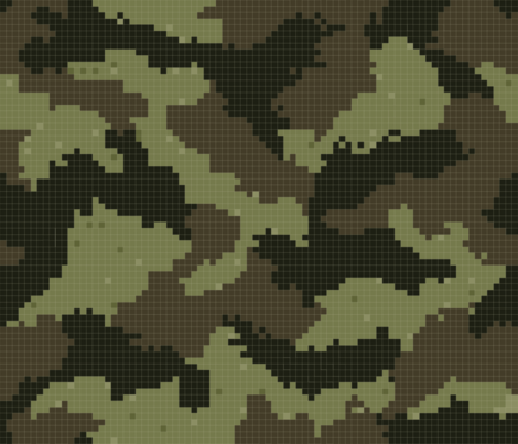 camo geek fabric by paper_canoe on Spoonflower - custom fabric