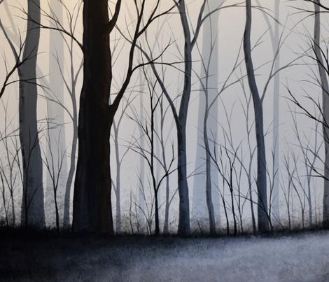 Through the Woods fabric by amykayg on Spoonflower - custom fabric