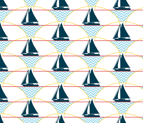 Naragansett fabric by littlerhodydesign on Spoonflower - custom fabric