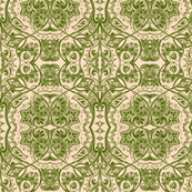 The Pocket Full of Posies Damask (green)