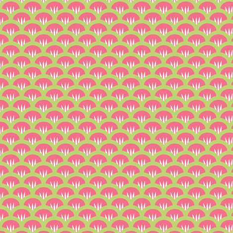 Suzy Woozy pink fabric by jillbyers on Spoonflower - custom fabric