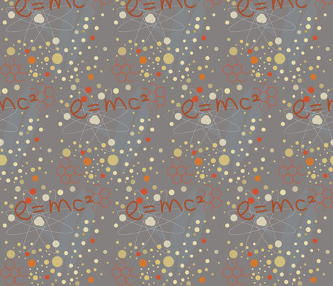 energy with gray fabric by rcm-designs on Spoonflower - custom fabric