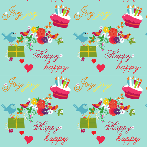 HappyHappyJoyJoy fabric by dnzsea on Spoonflower - custom fabric