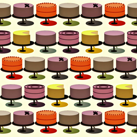 Celebrate with Cake fabric by susan_polston on Spoonflower - custom fabric