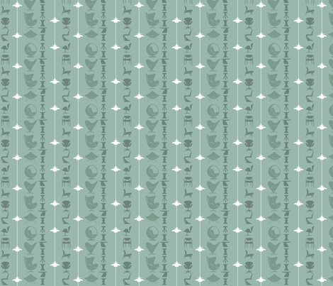 scandi-stripe-mint fabric by kurtcyr on Spoonflower - custom fabric