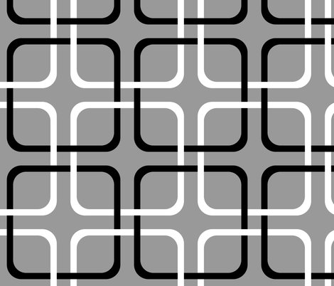 Rsquircle_lock___modern_cottage___black_and_white_on_pewter___peacoquette_designs___copyright_2014_shop_preview