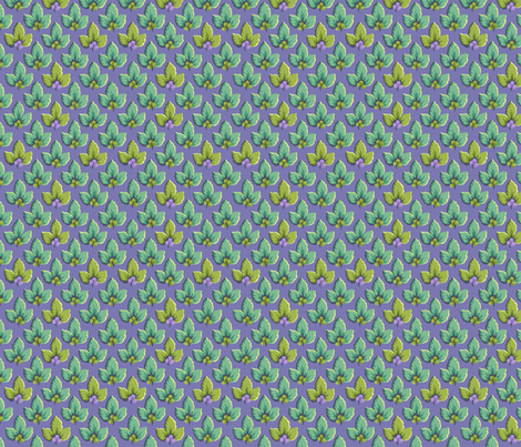 Lavender_Leaf_Dance fabric by kelly_a on Spoonflower - custom fabric
