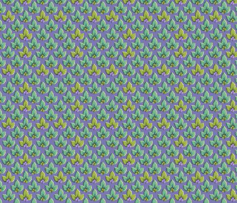 Lavender_Leaf_Dance fabric by kelly_a on Spoonflower - custom fabric